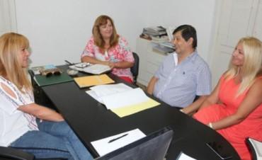 Ayala se reunió con jefes comunales de Empedrado, San Roque y Paso de la Patria