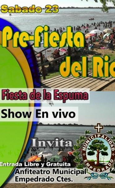 """Programa """"Pre-Fiesta del Río"""""""