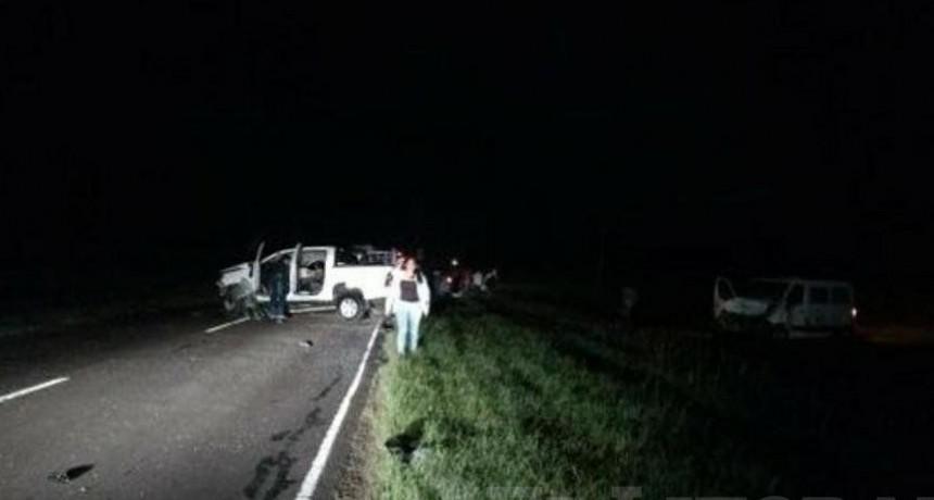 El Sombrero: choque entre combi y camioneta dejó una víctima fatal