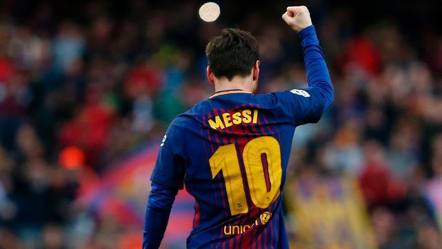 Lionel Messi marcó su gol 600