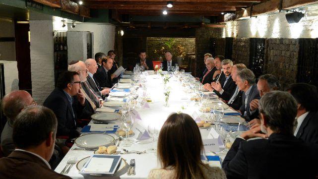 Marcos Peña se reunió con el grupo empresarial de los países del G20