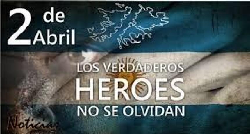 2 de abril Día del veterano de guerra y caídos en Malvinas