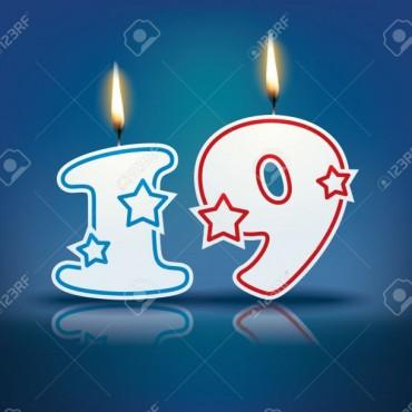 Hoy cumplimos 19 años en el corazón !!!