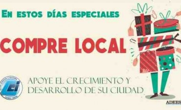 En estas Fiestas, compre local!