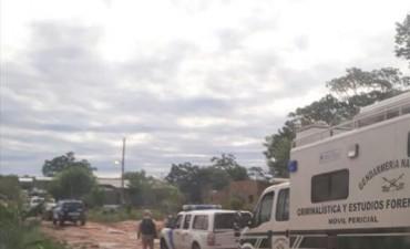 Allanan 10 casas y secuestran droga en un megaoperativo