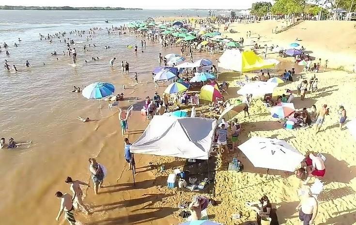 Quedó inaugurado oficialmente la segunda playa pública