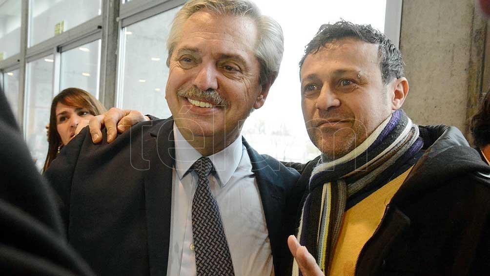 Alberto Fernández y Matías Lammens se reúnen con jóvenes porteños