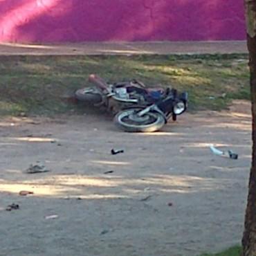 Accidente de tránsito en la ciudad: un joven fallecido