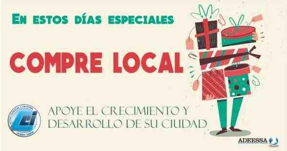 En estas Fiestas, compre local!